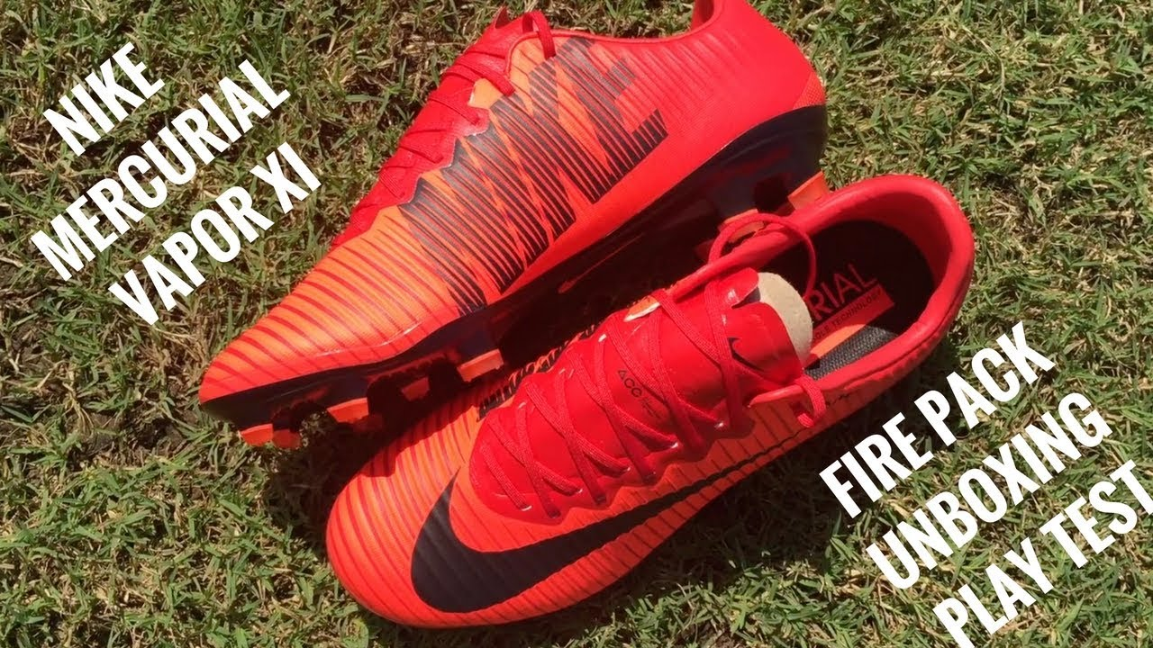 0d7a4107218 ... coupon for nike mercurial vapor xi fg fire pack unboxing play test  71c66 7b23a