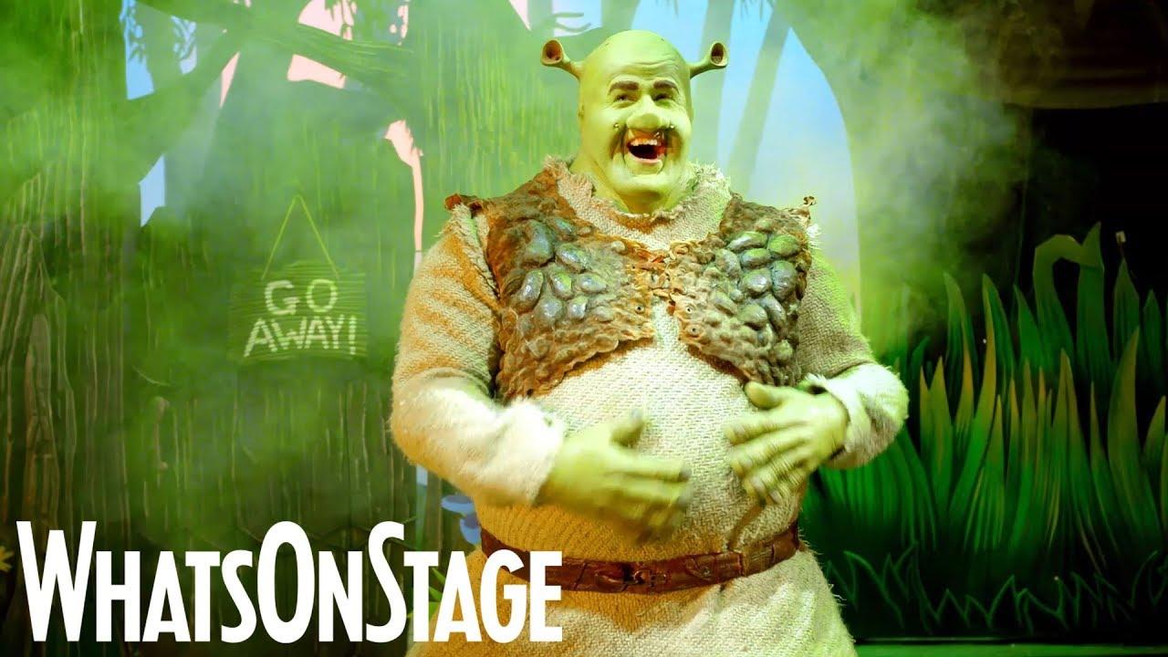 Shrek The Musical UK Tour
