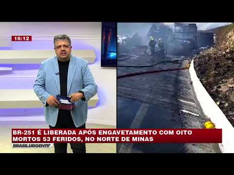 BRASIL URGENTE MINAS 17/07/2018