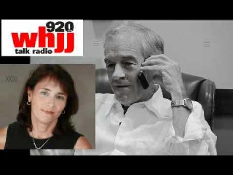 Ron Paul 4-18-12 Helen Glover Interview Rhode Island Radio 920 WHJJ