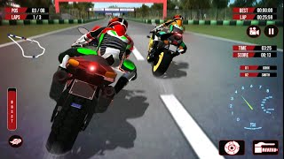 REAL CITY BIKE RACING GAMES 3D #Android GamePlay FHD #Bike Games To Play #Racing Games For Android