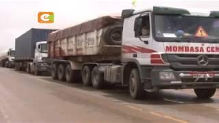 Mvua yasababisha msongamano wa magari