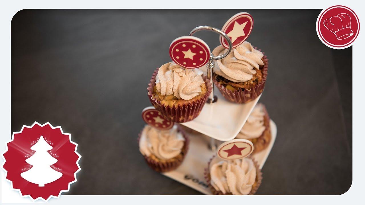 Weihnachtsserie Bratapfel Cupcakes Aus Dem Thermomix Elegant