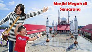 Wisata Religi ke Masjid Agung Jawa Tengah - Megah mirip Masjid Nabawi