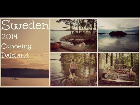 Sweden 2014 Canoeing in Dalsland | Bee around the world