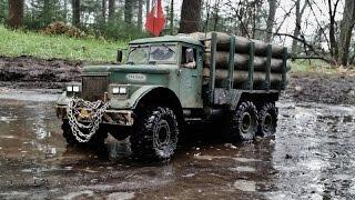 rc axial scx 10 6x6 kraz 255 the duke logging truck