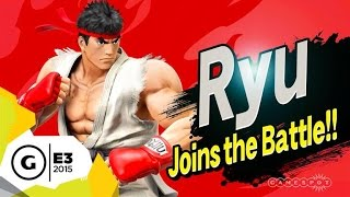 Ryu Mechanics Official Breakdown - Super Smash Bros. E3 2015