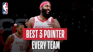 NBA's Best 3-Pointer Of Every Team | 2018-19 NBA Season