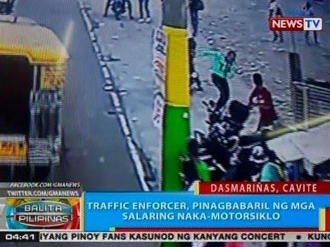 BP: Traffic enforcer sa Dasmariñas, Cavite, pinagbabaril ng mga salaring naka-motorsiklo