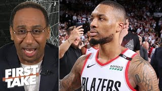 Damian Lillard\'s game-winning 3 vs. OKC may be the best I\'ve ever seen - Stephen A. | First Take
