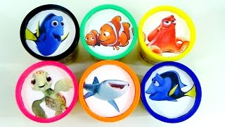 Finding Dory Play-Doh Lids with Nemo & Dory | Toys Unlimited