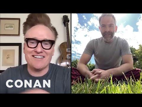 Conan Checks In With Jordan Schlansky At Home | CONAN on TBS