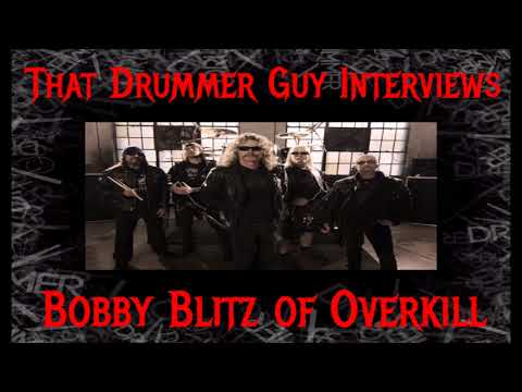 That Drummer Guy Interviews Bobby Blitz of Overkill