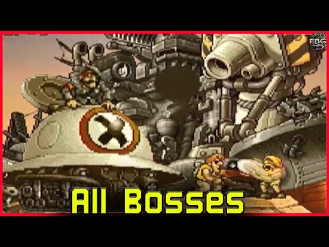 Metal Slug 2 - All Bosses  