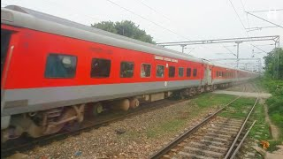 12561 Swatantrata senani express rips Khudiram bose pusa at full speed