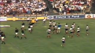 1984 Rugby Union match: South Africa Springboks vs South American Jaguars (1st Test)