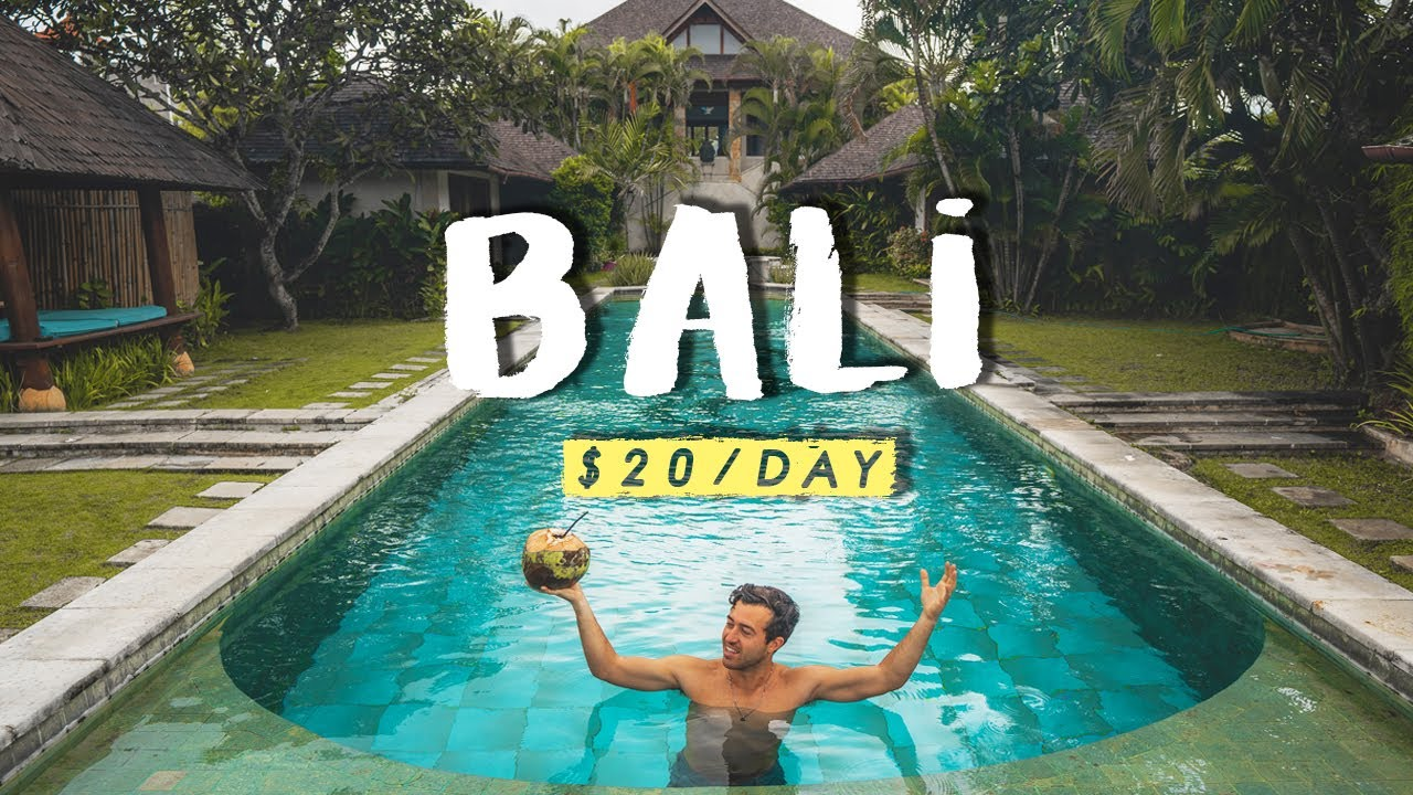 BALLING in BALI with $20 a Day