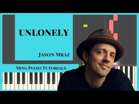 Unlonely - Jason Mraz (MIDI & SHEET MUSIC) Piano Cover Tutorial [Ming Piano Tutorials] Synthesia