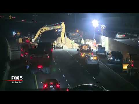 Paul Aaron - Massive Sinkhole On I-285 Repaired