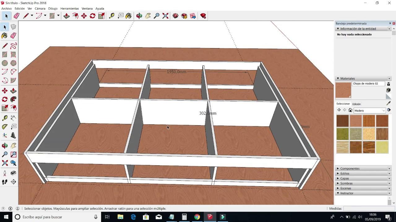 Fabricación De Cama De 2 Plazas Youtube