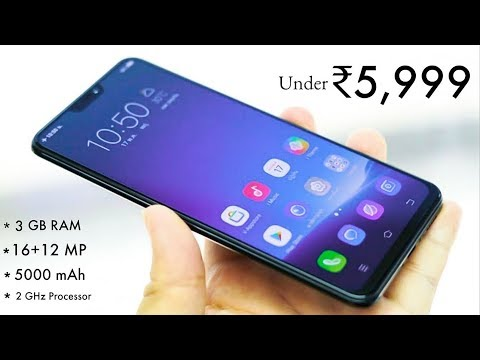 Top 7 Best Smartphone Under 6000 | 5000mAh Battary| 4GB RAM | 64GB Storage |  Steve Tech
