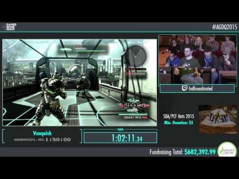 Awesome Games Done Quick 2015 - Part 158 - Vanquish by halfcoordinated