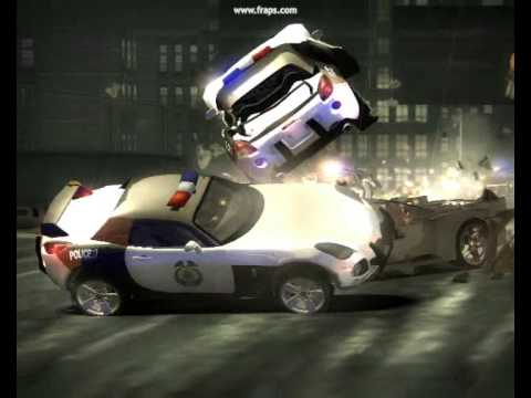 NEED FOR SPEED MOST WANTED POLICE CHASES WITH MODS HD!!!