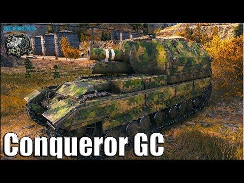 Скилловик АРТАВОД на КОНЕ ✅ World of Tanks лучший бой на арте  Conqueror GC