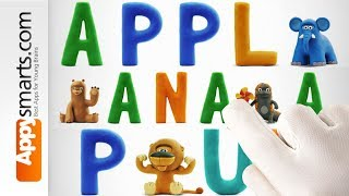 Learn Fruit Names with Talking ABC by Hey Clay - app demo for kids