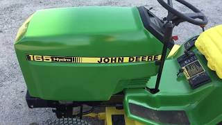 John Deere Hydro 165 Finished