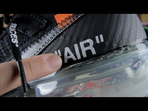 OFF WHITE VAPORMAX REVIEW!! | REAL VS FAKE!! | WHAT TO LOOK OUT FOR!!