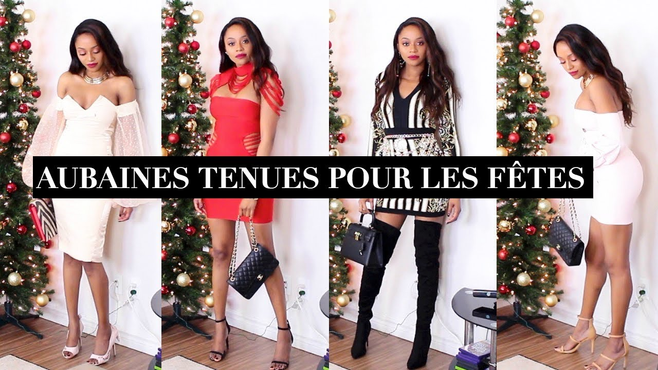 Robes Pour Les Fetes Codes Astuces Black Friday Aubaines Ne Manquez Pas Ca Maggy Kloset Youtube