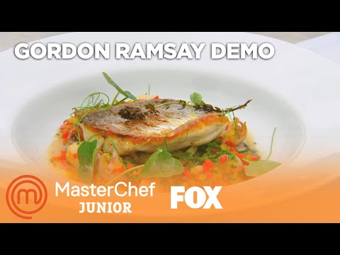 Gordon Ramsay Demonstrates How To Cook Red Snapper