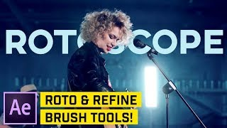 UNGLAUBLICHE Auswahl in After Effects-Roto-Brush