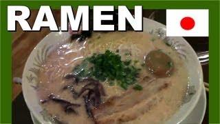 Japan Ramen Noodles - Walking In Japan 日本ラーメン - 日本のモンスター