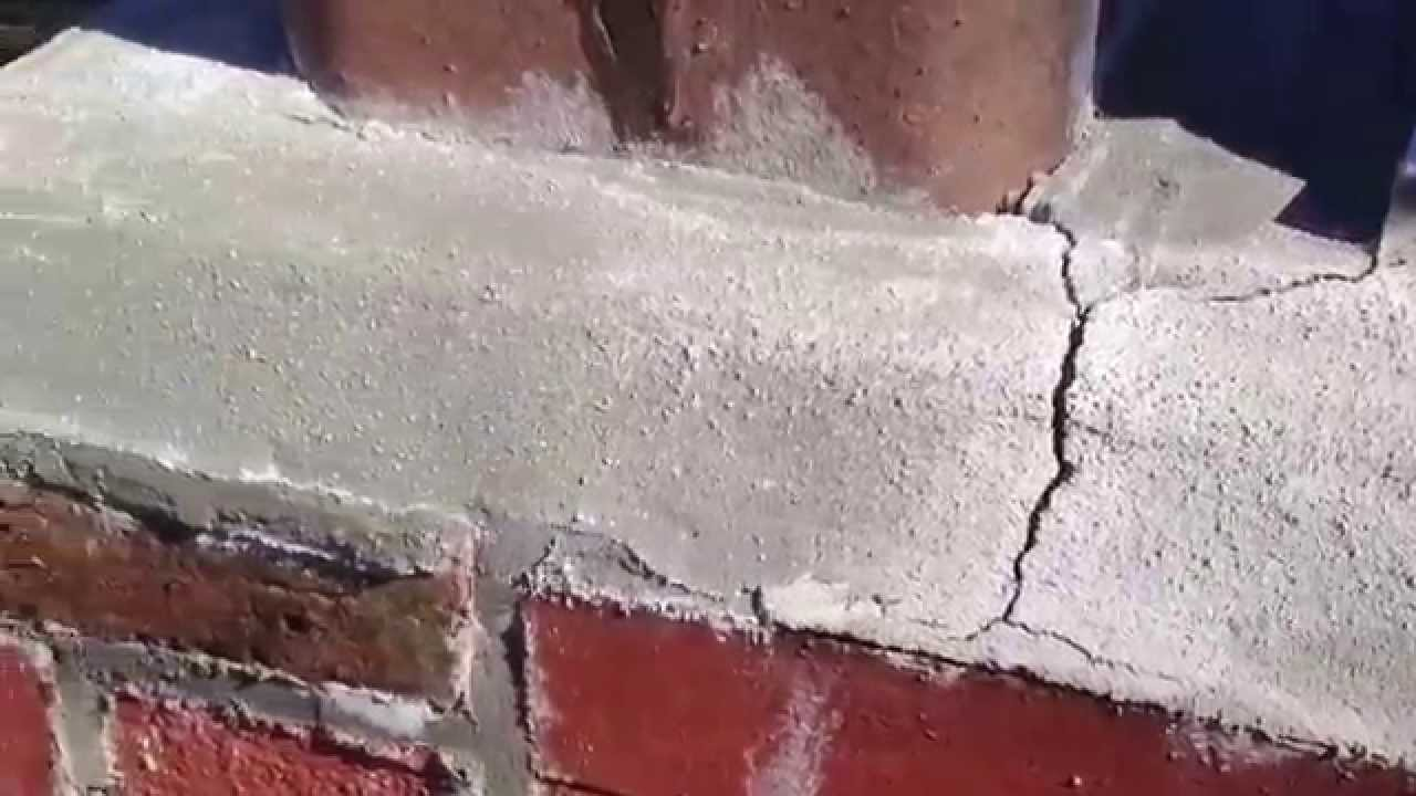 Chimney Crown Cracks Repair W Cap Flashing Drip Edge