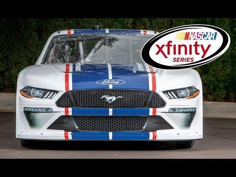 2020 Mustang NASCAR Xfinity Series