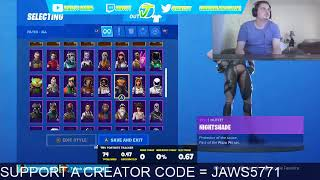 FORTNITE ARENA SOLOS USE CODE JAWS5771 IN THE ITEM SHOP