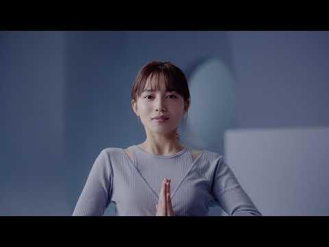 メディキュット 川口春奈さん出演 CM「寝ながら骨盤ケア きれいの習慣篇(夏用クール)」15秒