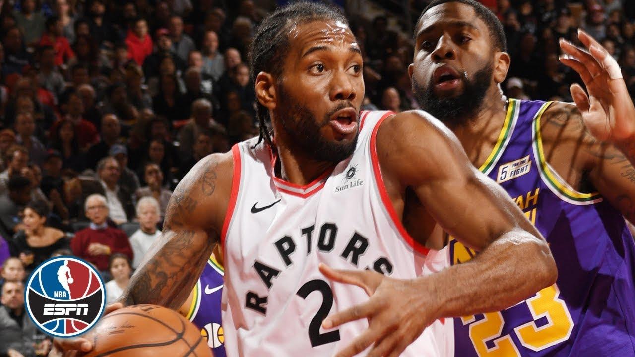 Kawhi Leonard's career-high 45 points lead Raptors to win vs. Jazz | NBA Highlights