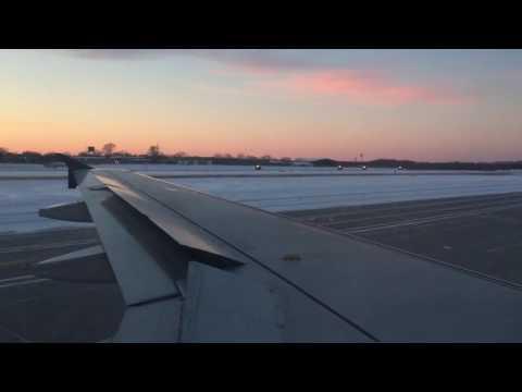 Delta A319 Landing at Minneapolis
