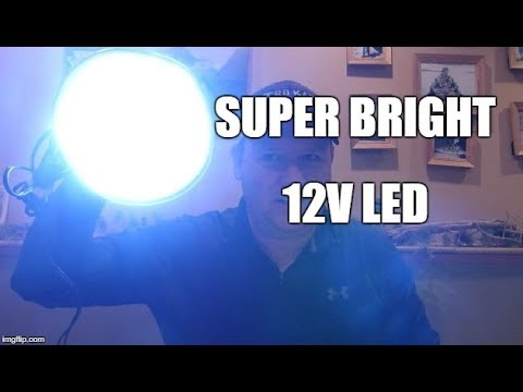 12v LED Light for Ice Fishing and Camping
