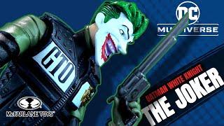 McFarlane Toys DC Multiverse Batman The White Knight The Joker | Video Review