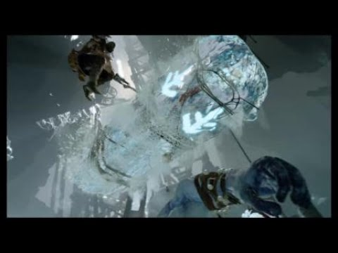 God of War:Fight vs (Jarn Fotr) the ice giant