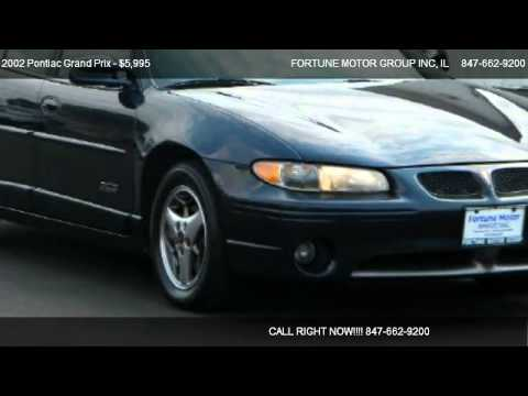 2002 pontiac grand prix gtp supercharged for sale in