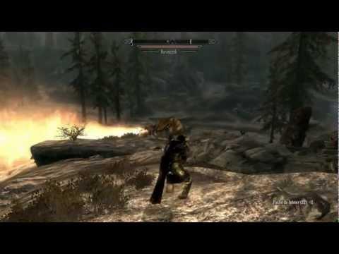 Skyrim Mods / Gohul, Dovahkiin / Ep.3: Matanza de dragones + Hezvonok y fuente de poder