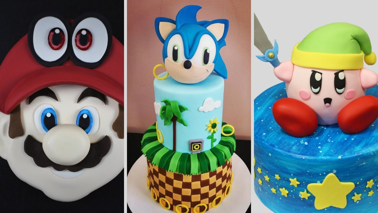 Sonic The Hedgehog Cake Tutorial Youtube