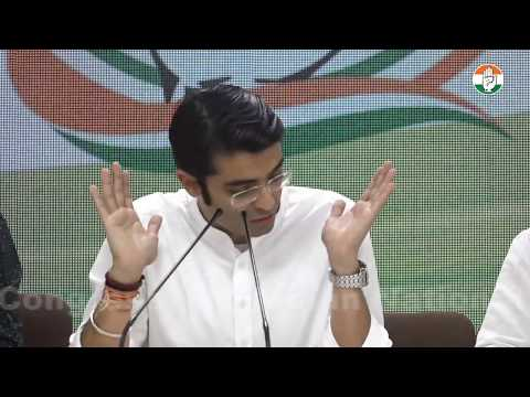 LIVE: AICC Press Briefing By Jaiveer Shergill at Congress HQ