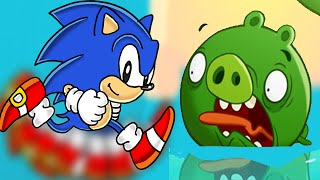 Angry Birds Epic: Holy Pools 5 - Sonic Dash The Hedgehog