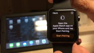 Apple Watch 42mm Series 1 Unboxing and Setup